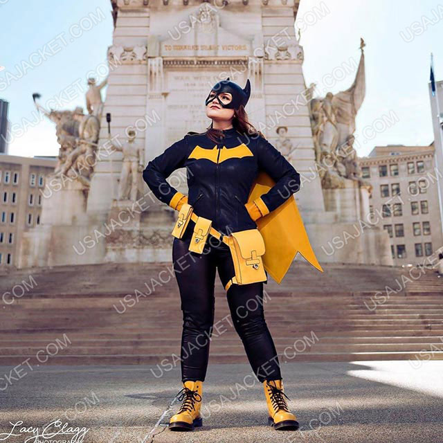 Barbara Gordon Batgirl Jacket Customer Image