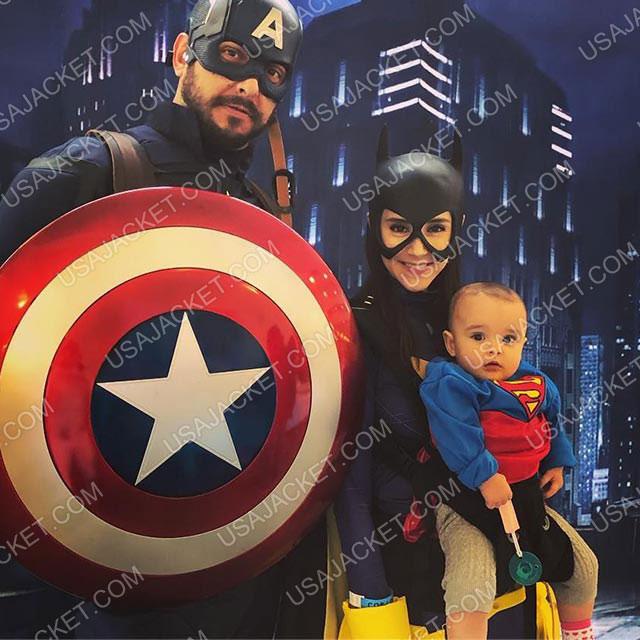 Batgirl Jacket Customer Image
