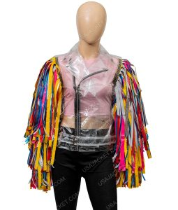 Margot Robbie Harley Quinn Birds Of Prey Wings Jacket