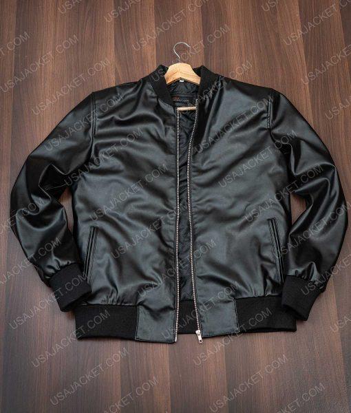 Jack Falahee bomber jacket