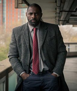 Idris Elba Luther Coat