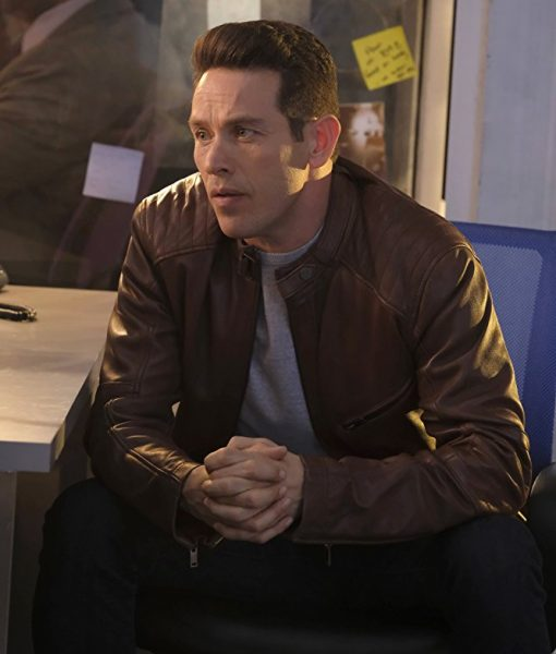 Lucifer Kevin Alejandro Brown Jacket