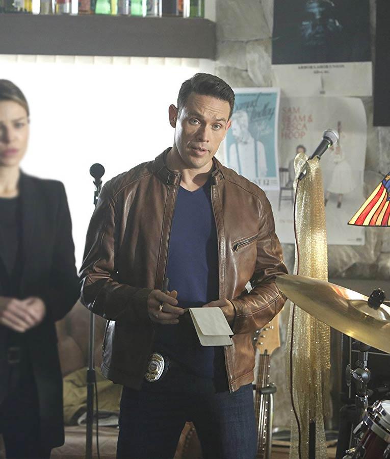 TV- Series Lucifer Dan Espinoza Cafe Racer Jacket