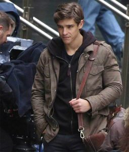 Dick Grayson Brown Jacket