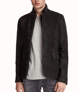 Dick Grayson Leather Blazer