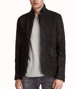 Dick Grayson Leather Blazer