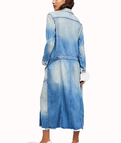 Zoe Ramirez Denim Coat