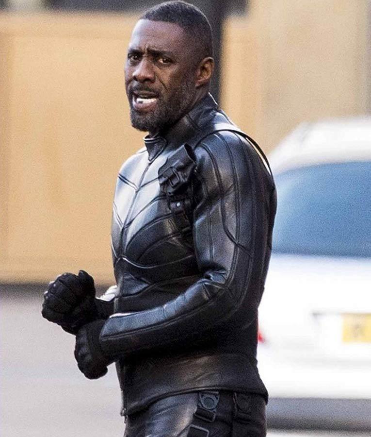 85e5489e11 Fast & Furious Idris Elba Brixton Leather Jacket