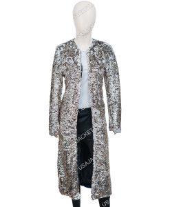 Birds Of Prey Harley Quinn Sequin Long Duster Coat