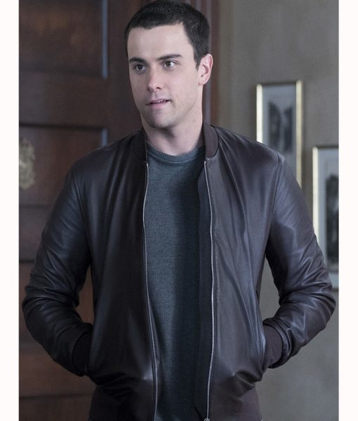 How to Get Away With Murder Con nor Wlash Leather Jacket