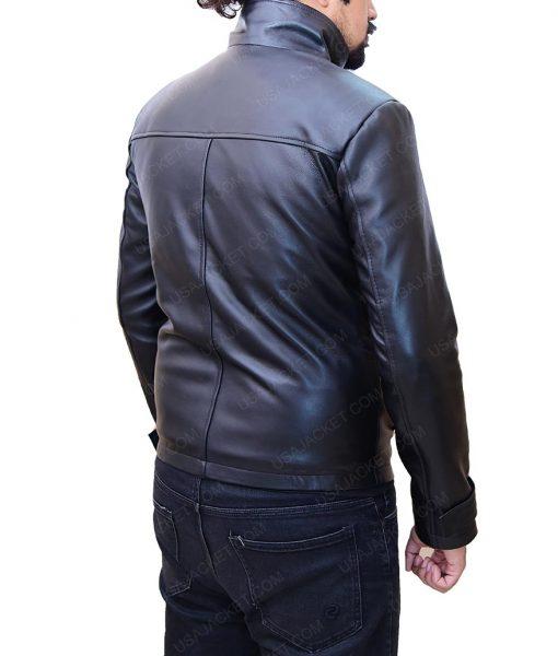 Jake Moore Wall Street Money Never Sleeps Leather Jacket