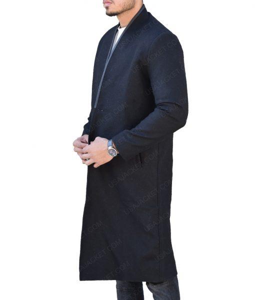 Josh Stewart The Punisher John Pilgrim Black Coat