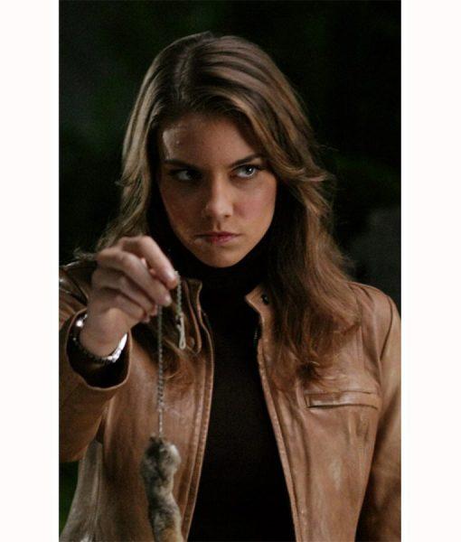 Bela Talbot Supernatural Lauren Cohan Leather Jacket