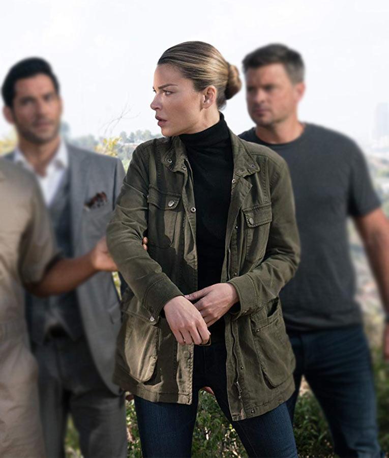 TV-Series Lucifer Chloe Decker Field Jacket- Usajacket