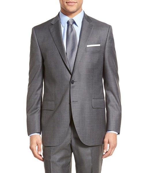Tom Ellis Grey Suit