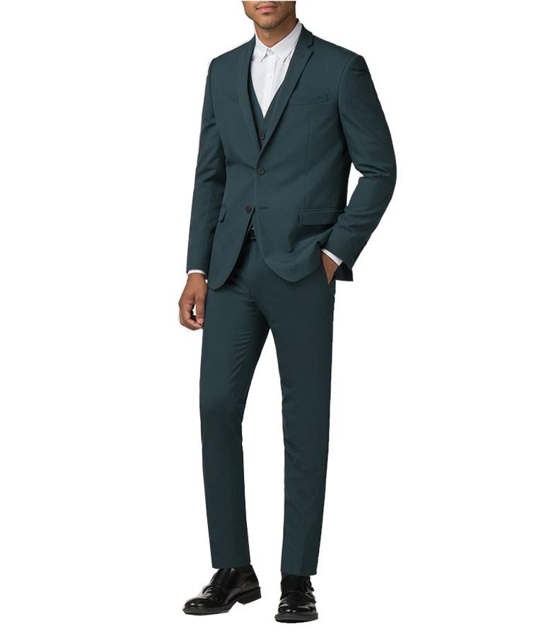 Lucifer Morningstar Green Suit On Let Pinhead Sing Season