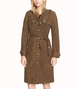 Karla Souza Trench Coat