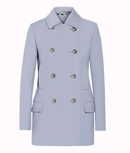 Michaela Pratt Lavender Coat