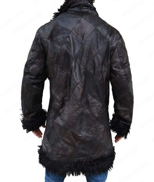 The Umbrella Academy Klaus Shearling Fur Trench Coat