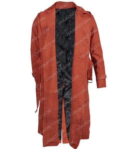Samuel L.Jackson Shaft John Shaft II Maroon Coat