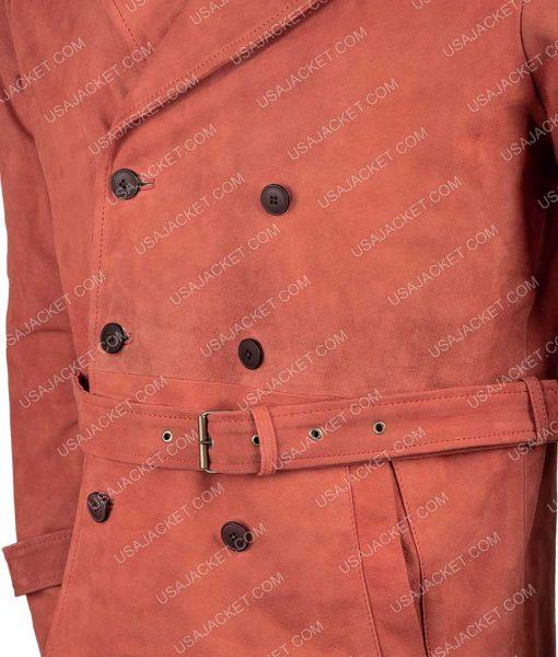 Shaft Samuel L Jackson Suede Leather Coat