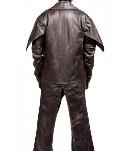 Star Wars Cad Bane Distressed Brown Jacket