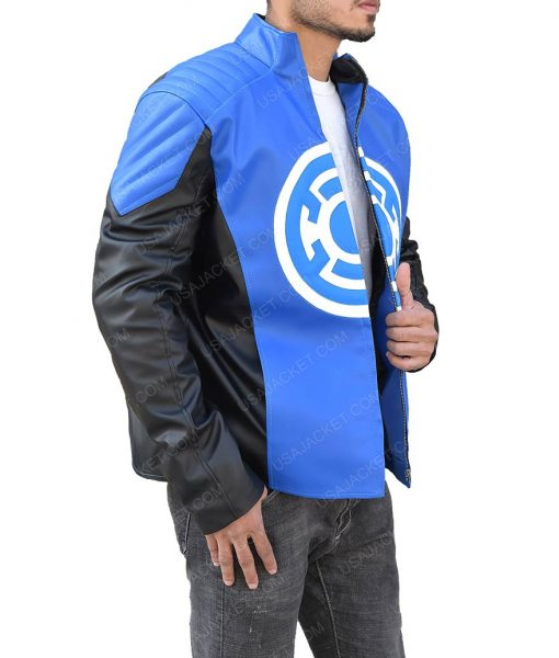 The Flash Blackest Night Barry Allen Blue Lantern Jacket
