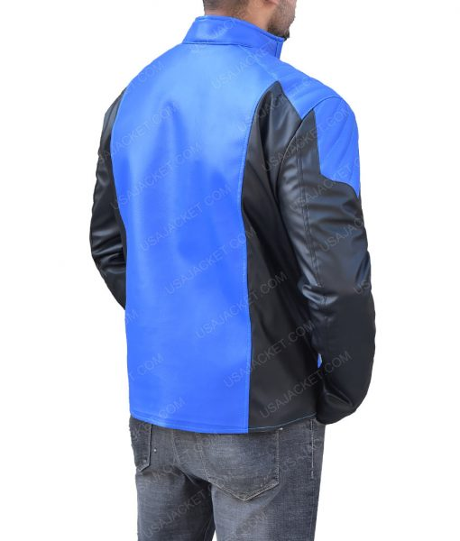 The Flash Barry Allen Blue Lantern Jacket