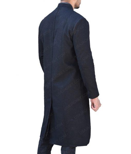 Josh Stewart The Punisher John Pilgrim Wool Coat