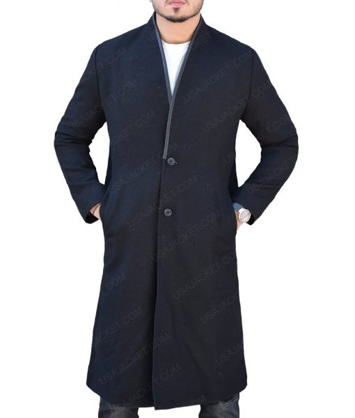 The Punisher John Pilgrim Black Coat