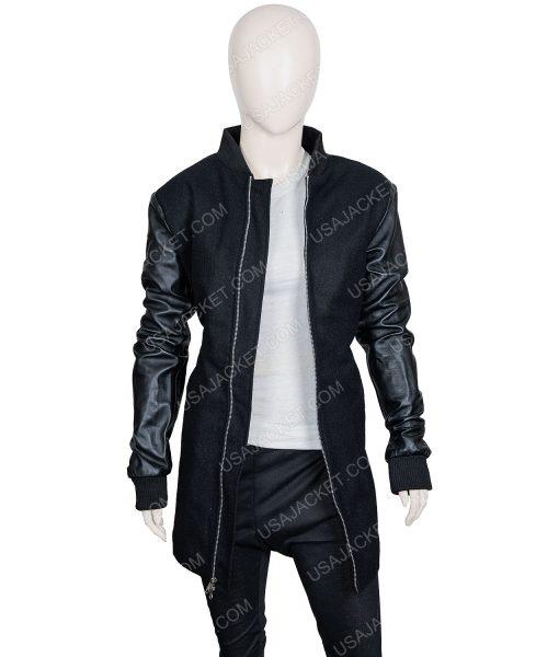 The Umbrella Academy Ellen Page Black Leather Jacket