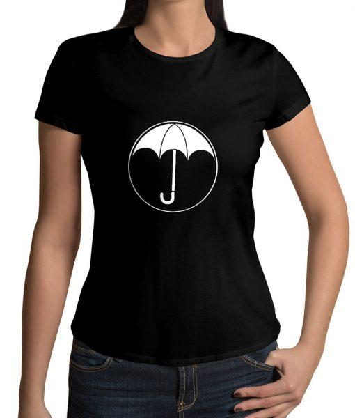 The Umbrella Academy Logo Black T-Sh