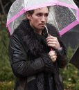 The Umbrella Academy Robert Sheehan Shearling Coat