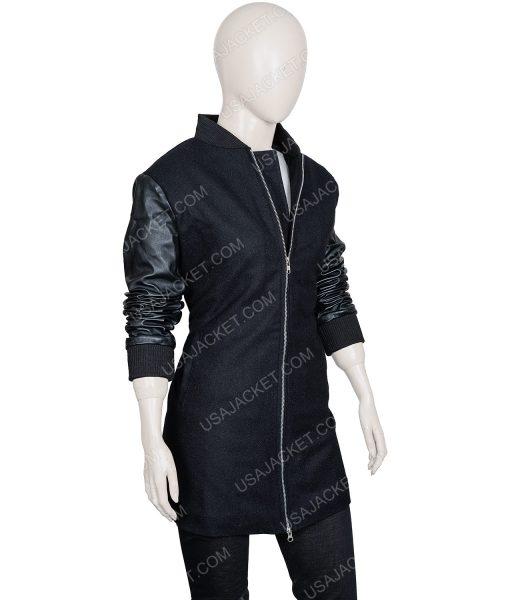 The Umbrella Academy Vanya Black Leather Jacket