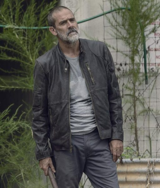 The Walking Dead Negan Season 9 Leather Jacket