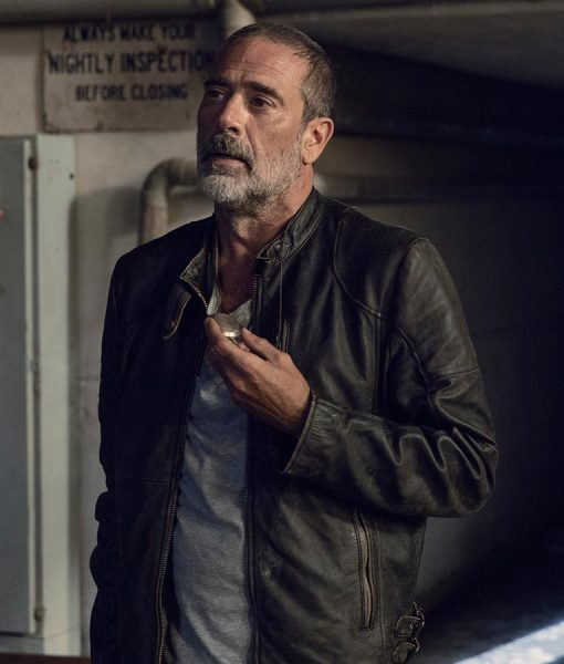 Negan The Walking Dead Season 9 Leather Jacket