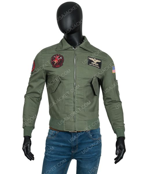 Tom Cruise Top Gun 2 Maverick Jacket