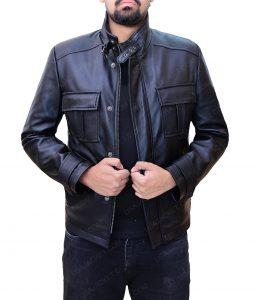 Wall Street Money Never Sleeps Shia Labeouf Black Leather Jacket