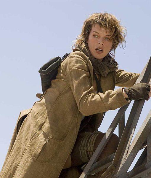 Resident Evil Extinction Milla Jovovich Coat