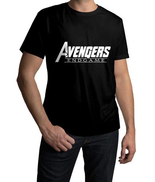 Avengers Endgame Black T-shirt