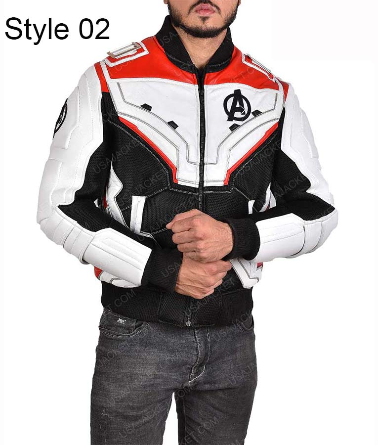 Quantum Realm Leather Jacket