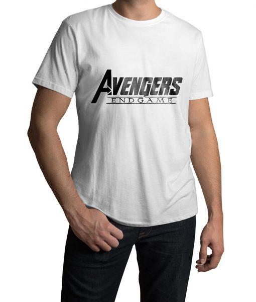 Avengers 4 Endgame white t-shirt