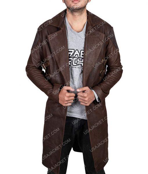 Christoph Waltz Alita Coat