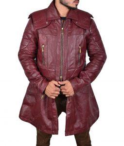 Dante Maroon Coat