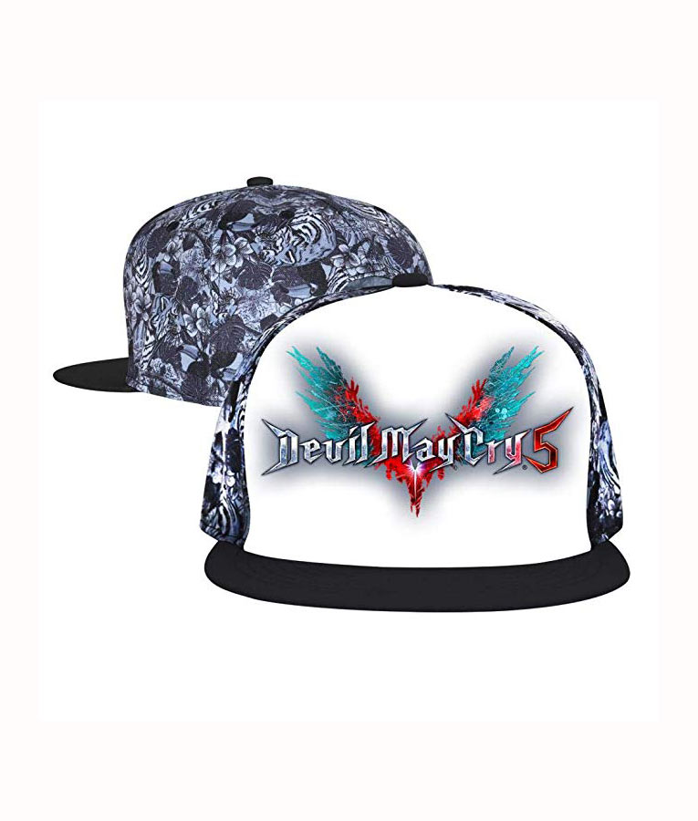 best sneakers 21b42 b9fb3 Devil May Cry 5 logo Snapback Cap-Usajacket