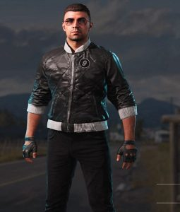 video game Viper jacket
