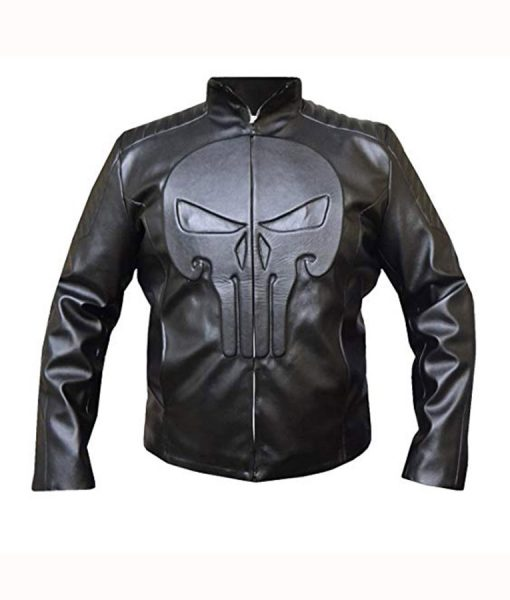 Frank Castle Black Jacket