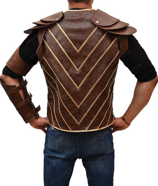 Hawkman Brown Vest