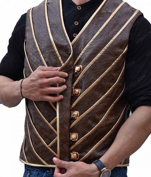 Hawkman Leather Vest