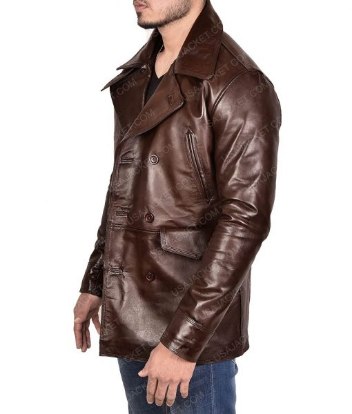 Inglourious Basterds Brad Pitt Leather Jacket